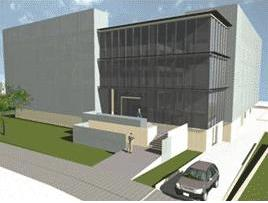 Virtual image of the future imdea building
